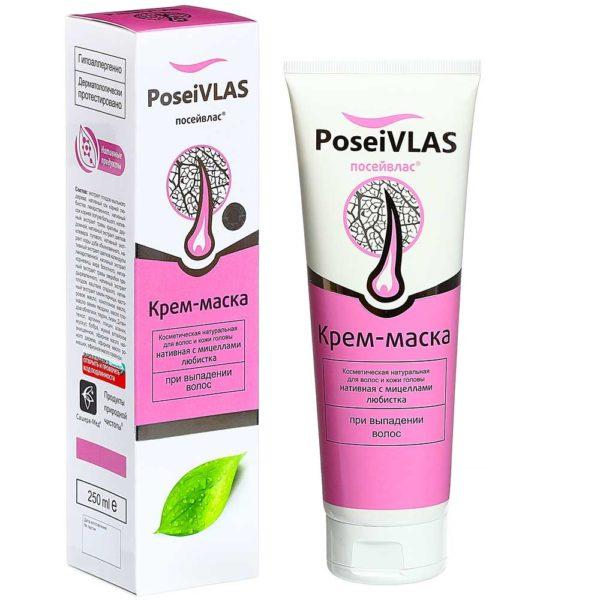 «PoseiVlas» Крем-маска с мицеллами любистка