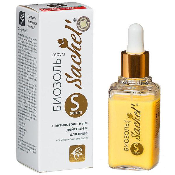 Сашель биозоль-серум для лица с антивозрастным действием